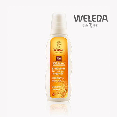 For nighttime use – BORT WELEDA Sea Buckthorn Body Lotion