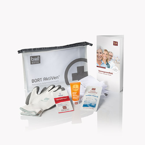 BORT AktiVen® starter kit for medical compression stockings